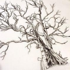 Wonderful tattoo artist. I really like her style.  [ wedding tree ] for Tobias.