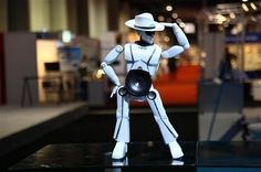 "A dancing #robot from #Vietnam, from the article ""Vietnam's dance robots introduced at CES 2013"" More info: http://ht.ly/gNENa"