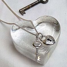 Key to my heart...I'm giving it to you......