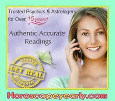 Trusted Psychics - Discover your destiny. If you have questions about your Future- Love,Success,Money,Happiness,Dream Interpretation, learn your destiny! Our gifted are selected for there God Gifted Clairvoyant talent. See Details Here: http://www.horoscopeyearly.com/future-predictions/