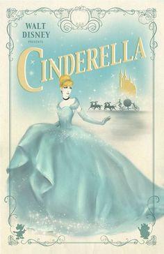 Cinderella by Walt Disney. Walt Disney, Disney Films, Disney Love, Disney Magic, Disney Pixar, Disney Characters, Cinderella Birthday, Cinderella Movie, Have Courage And Be Kind