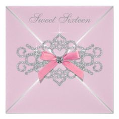 ==>Discount          Pink Diamonds Pink Sweet 16 Birthday Party Invites           Pink Diamonds Pink Sweet 16 Birthday Party Invites We have the best promotion for you and if you are interested in the related item or need more information reviews from the x customer who are own of them before ...Cleck Hot Deals >>> http://www.zazzle.com/pink_diamonds_pink_sweet_16_birthday_party_invites-161570928567839566?rf=238627982471231924&zbar=1&tc=terrest