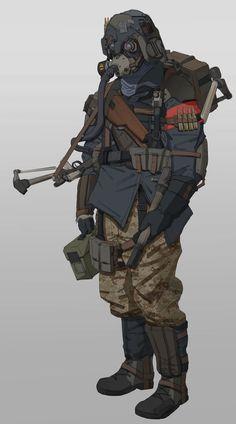 ArtStation - 4th Reich Tank Crew, Will JinHo Bik: