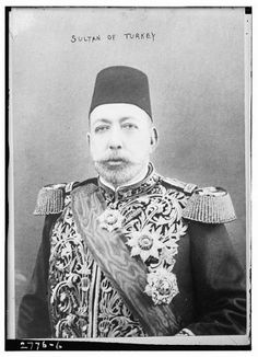 Sultan of Turkey,Mehmet V,1844-1918 in uniform. Mehmed V's only significant political act was, as Caliph, to formally declare 'jihad' against the Entente Powers (Allies of World War I) on 11 November 1914, following the Ottoman government's decision to join the First World War on the side of the Central Powers. This was the last genuine proclamation of jihad in history by a Caliph, as the Caliphate ended in 1924.