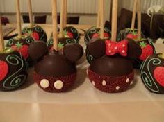 decoracion de manzanas con chocolate - Buscar con Google