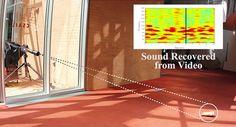 映像だけから音を復元するビジュアルマイク技術。防音ガラス越しのポテチ袋から会話を再現 - Engadget Japanese