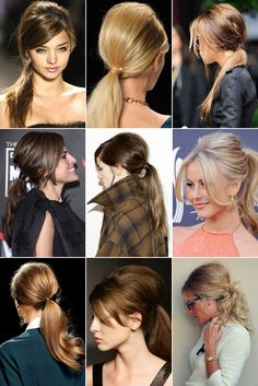 Bumped ponytails