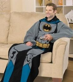 Batman Snuggie - That's Why I'm Broke   The coolest gadgets, electronics, geeky stuff, and more!