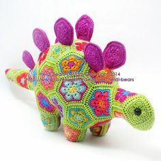 Puff the Magic Stegosaurus