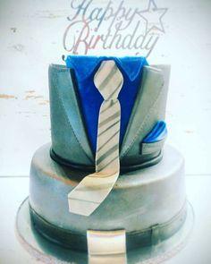 Gentleman cake,men suit cake