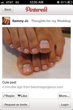 Wedding Toes