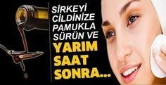 Sirkeyi cildinize pamukla sürün ve yarım saat so nra. Homemade Skin Care, Diy Skin Care, Beauty Secrets, Beauty Hacks, Beauty Care, Hair Beauty, Punny Halloween Costumes, Long And Short Stitch, Apple Vinegar