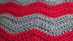 Soft Crochet Chevron Blanket - Make it in Any Size. Easy Level.  Video Tutorial & Free Pattern at  http://youtu.be/yE3qRVQfdYY