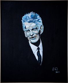 Portrait of Samuel Beckett by Brian Quigley