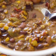 Veggie Vegetarian Chili Allrecipes.com.  Add 3/4 can of tomato paste as well.