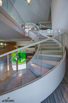 Best Curved Stairs Curved Staircase Circular Staircase Modern Staircase… 100 Pics For Jude 640 x 480