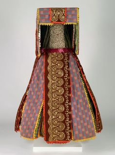 Egungun costume, 20th century. Ouidah, Popular Republic of Benin, Yoruba.