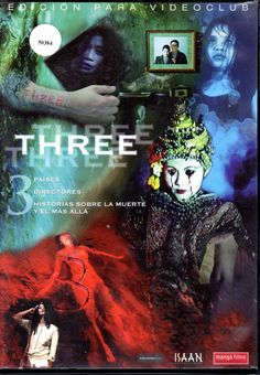 Three [Vídeo DVD] / directores Kim Jee-Woon, Peter Ho-Sun Chan, Nonzee Nimibutr