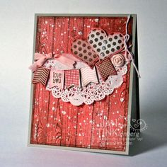 Groovy Love Goes Shabby Chic by JanTInk - Cards and Paper Crafts at Splitcoaststampers
