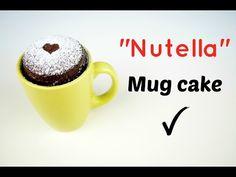 """⋆Mug Cake⋆ """"Bizcocho de Nutella en 2 minutos"""" (microondas) / Nutela Mug Cake recipe - YouTube"""