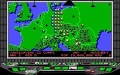 Conflict Europe is an old science fiction turn-based tactics strategy game released in 1989 by Mirrorsoft and developed by Personal Software Services.