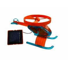 This solar-powered helicopter can be used indoors and outdoors! It is entertaining and instructive for kids and adults alike.