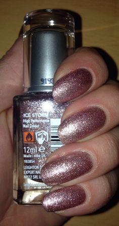 Leighton Denny nail polish, ice storm