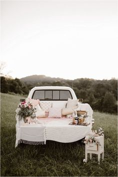 Vintage Inspired Knoxville Vow Renewal by Erin Morrison Photography Wedding Vows, Rustic Wedding, Dream Wedding, Wedding Car Deco, Wedding Anniversary Photos, Wedding Proposals, Flower Decorations, Wedding Decorations, Classic Trucks
