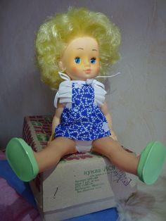 Редкость!!!!Кукла СССР. Абсолютно Новая куколка Ася. ДЗИ. Донецкая. В родной коробке. Этикетка.