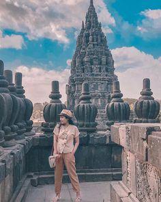 "YURI K   Lifestyle Blogger on Instagram: ""Prambanan Temple"". Feeling the Lara Croft x Indiana Jones vibes 😀😜       . #prambanantemple #prambanan #sidewalkerdaily"