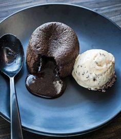 Dokonalý čokoládový fondán , Foto: kuchařka Čokoláda