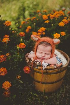 And babes and flowers!!! | Twig and Olive Photography