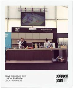 #PeixeEmLisboa 2015 #Poggenpohl kitchen at the auditorium #Kenwood #Küppersbusch