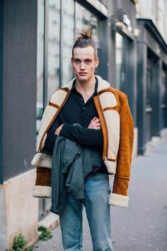 Sylvester Ulv Henrikse: Model Off Duty: Bastille, Paris