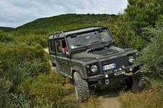 Land Rover Defender 110td5.