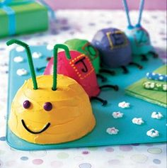 Curly Caterpillar Cake