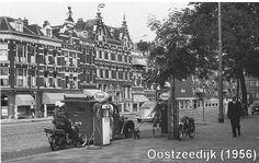 Oostzeedijk Rotterdam (jaartal: 1950 tot 1960) - Foto's SERC Rotterdam, Back In Time, Holland, Street View, Places, Travel, Van, Historia, Historical Photos