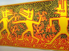 Expo The Political Line - Keith Haring - MAM Paris