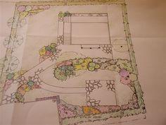 hageplan Vintage World Maps, Garden, Garten, Lawn And Garden, Gardens, Gardening, Outdoor, Yard, Tuin