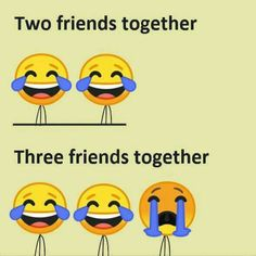 Everyfay of our lives. Love you Kamo Funny School Jokes, Very Funny Jokes, Really Funny Memes, Besties Quotes, Best Friend Quotes, Friend Memes, Bestfriends, Funny Chat, Laughter Therapy