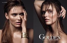 Golden - Photographed by Photographed by Stephan Glathe Hair & Makeup Alba Brari Model Linda // Most Wanted Models