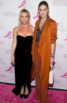 Star-studded: Fitness guru Tracy Anderson and fashionista Olivia Palermo also hit the pink carpet
