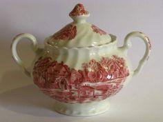 Zuccheriera vintage in porcellana. Sugar Bowl, Bowl Set, Tea Pots, Tableware, Ebay, Vintage, Dinnerware, Tablewares, Tea Pot