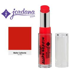 Jordana Modern Matte Lipstick 11 Matte Caliente -- This is an Amazon Affiliate link. For more information, visit image link.