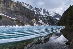 Lake Louise racetrack by Catalin Mitrache on 500px