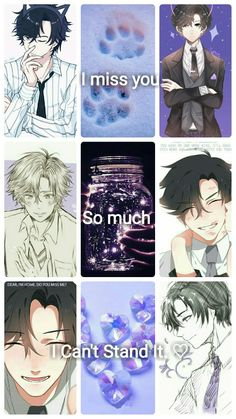 Made by moi! My fluffy Jumin Aesthetic Collage