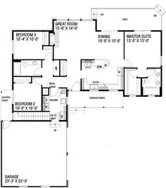 House Plan chp-18956 at COOLhouseplans.com