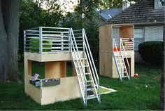 diy budget kids cubby house - Google Search