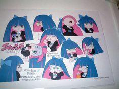 Character Model Sheet, Character Modeling, Character Creation, Character Concept, Concept Art, Character Design, Bleach Anime Art, Panty And Stocking Anime, Cartoon Art Styles