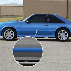 1986-1993 Ford Mustang Capri Stock Exhaust Manifold Header 5.0L 302 v8 Shorty GT